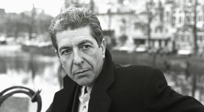 Video of the Week- Leonard Cohen, You Want it Darker